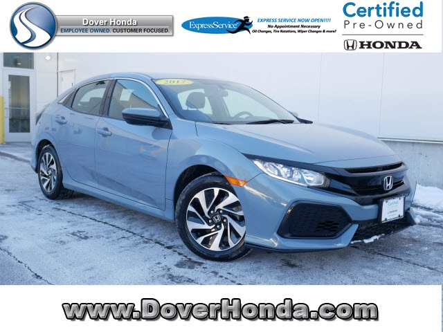 Honda Civic Certified Pre Owned >> Certified Pre Owned 2017 Honda Civic Lx Fwd 4d Hatchback